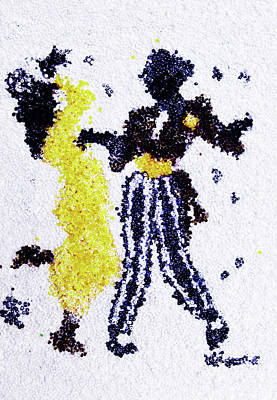 Dancing Couple Art Print by Natalya A