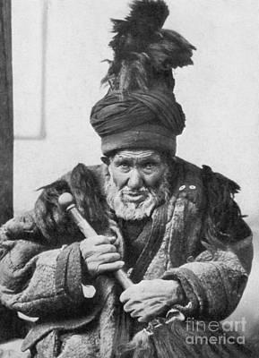 Dancing Dervish Of Khotan Art Print