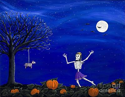 Painting - Dancing In The Pumpkin Patch  by Kerri Ertman
