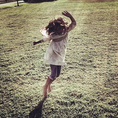 Fairy Photograph - Dancing In The Sun by Aja Reed