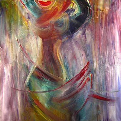 Wall Art - Painting - Dancing by Lee Eggstein
