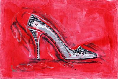 Disco Painting - Dancing Queen by Richard De Wolfe