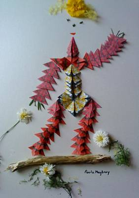 Painting - Dancing Scarecrow by Paula Maybery