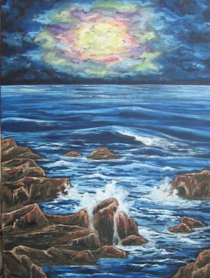 Dancing Skies 2 Original by Cheryl Pettigrew