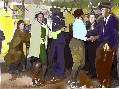 1-charles-shoup.fineartamerica.com Mixed Media - Dancing To Jazz by Charles Shoup