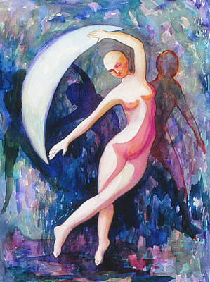 Dancing With The Moon Original by Nancy Wait