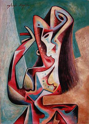 Dancing Woman Art Print by Ashish Das