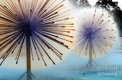 Photograph - Dandylion Fountains by Clayton Bruster