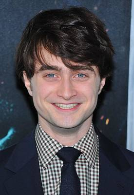 Daniel Radcliffe At Arrivals For Harry Art Print