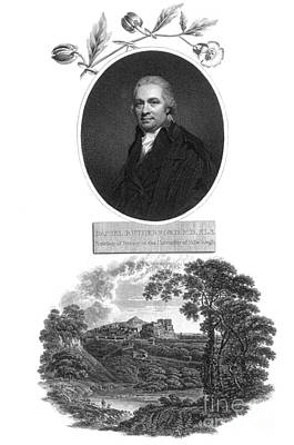 Botanic Illustration Photograph - Daniel Rutherford, Scottish Chemist by Science Source