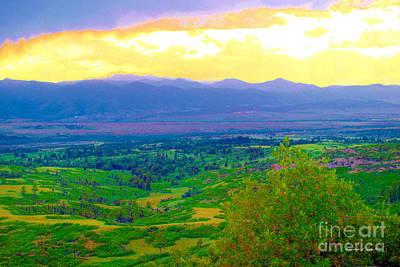 Photograph - Daniels Park I - A Colorado Landscape Paintograph by Christine S Zipps