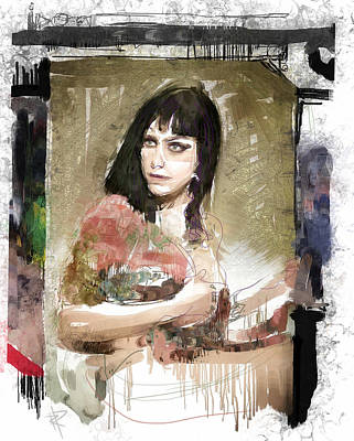 Digital Art - Dannie Diesel by Russell Pierce