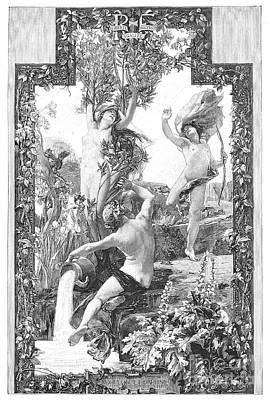 Daphne And Apollo Art Print by Granger