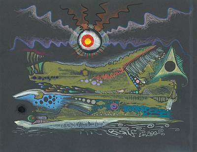 Dargonia Art Print by Ralf Schulze