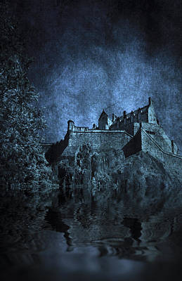 Dark Castle Art Print by Svetlana Sewell