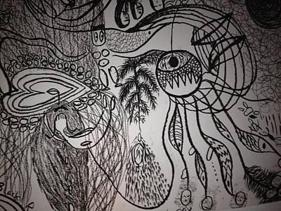Dark City Love Art Print by Ivy T Flanders