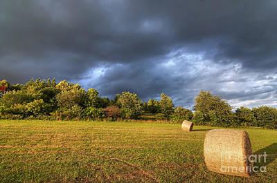 Dark Clouds Before Storm Art Print by Michal Boubin