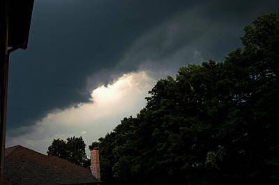 Wind Photograph - Dark Forces  Battle In The Sky by LeeAnn McLaneGoetz McLaneGoetzStudioLLCcom