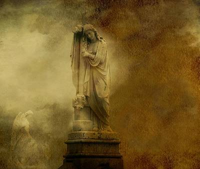 Graveyard Digital Art - Dark Gothic Cloud by Gothicrow Images