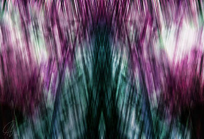 Digital Art - Dark Rain by Margaret Hormann Bfa