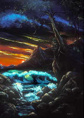 Painting - Dark Shores by Richard Mordecki