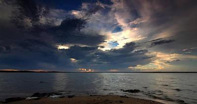 Photograph - Dark Skies by Paul Svensen