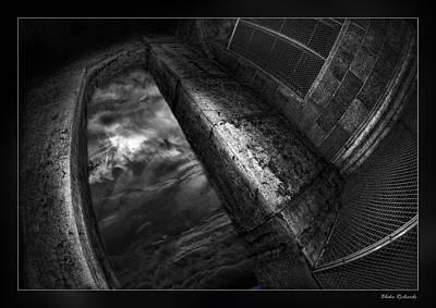 Photograph - Dark Sky Door by Blake Richards