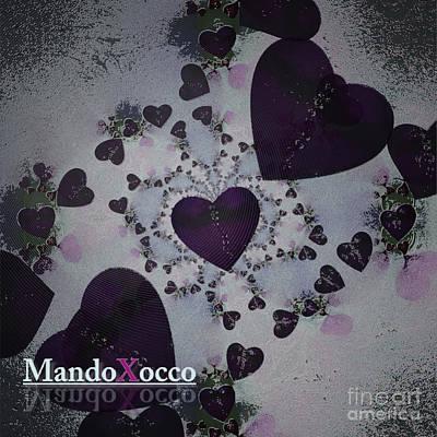 Dark Violet Art Print