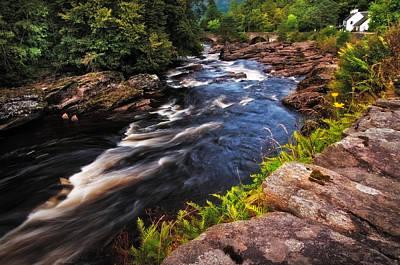 Photograph - Dark Wild Waters. Scotland by Jenny Rainbow