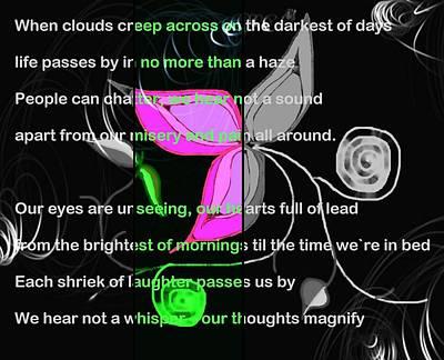 Prose Digital Art - Darkest Days by Jan Steadman-Jackson