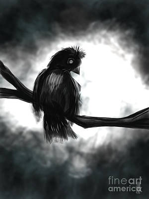 Digital Art - Darklands by J Kinion