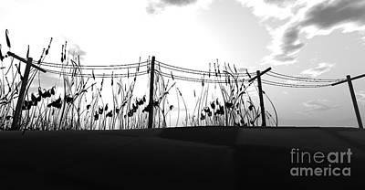 Mindscape Digital Art - Darklands by Nick Pearce