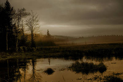 Darkness Approaches Art Print