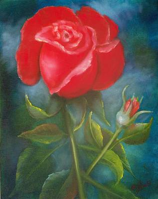 Painting - Darling Rose by Joni McPherson