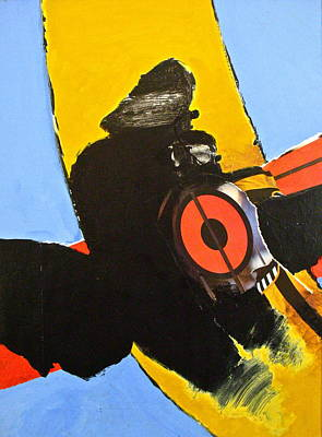 Painting - Darth Nose Where The Fish Are by Cliff Spohn