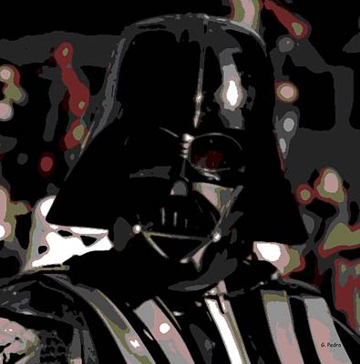 Photograph - Darth Vader by George Pedro