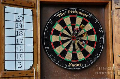 Photograph - Darts by John Black