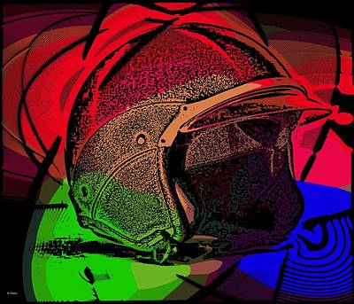 Photograph - Das Helmet by George Pedro