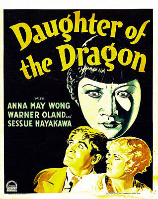 Daughter Of The Dragon, Anna May Wong Art Print by Everett