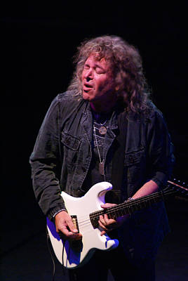 Photograph - Dave Meniketti And His Crying Guitar by Ben Upham
