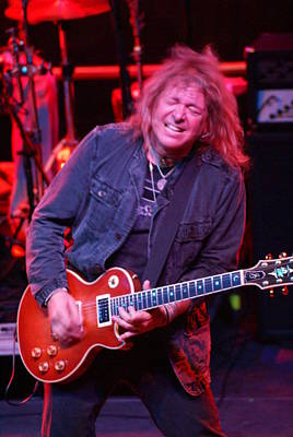 Photograph - Dave Meniketti Reaching For The Elusive Note by Ben Upham