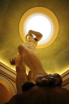 Statue Of David Photograph - David 1 by Jessica Velasco