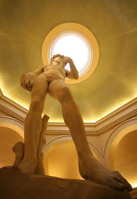 Statue Of David Photograph - David 2 by Jessica Velasco