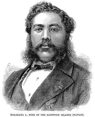 David Kalakaua (1836-1891) Art Print