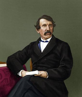 David Livingstone, Scottish Explorer Art Print by Maria Platt-evans