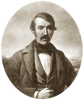 Zambesi River Photograph - David Livingstone, Scottish Explorer by Sheila Terry