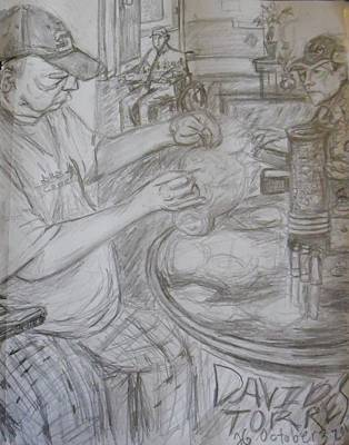David Torres Art Print by Hannah Curran