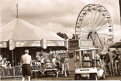 Photograph - Davidson County Fair by Lee Hartsell