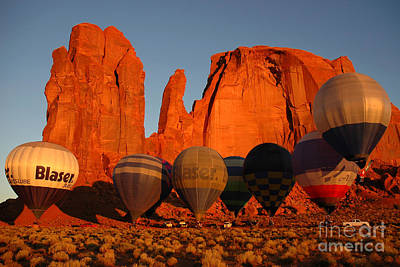 Art Print featuring the photograph Dawn Flight In Monument Valley by Vivian Christopher