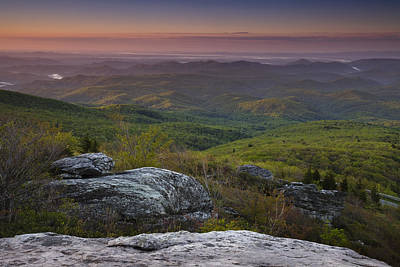 Dawn In The Blue Ridge Art Print